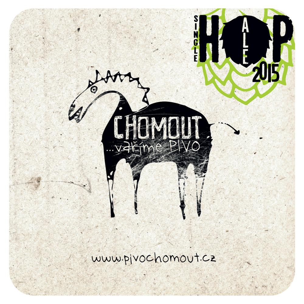 Pivní tácky pro Pivovar Chomout