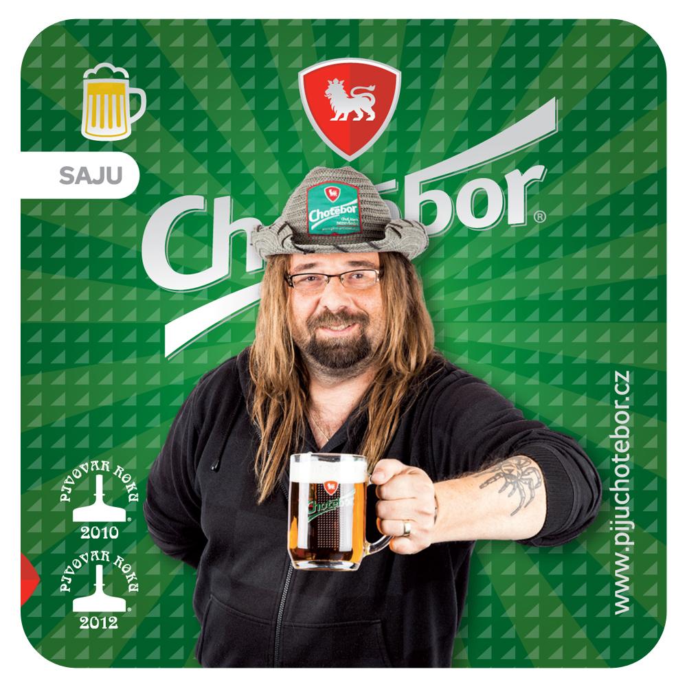 Pivovar Chotěboř vytvořil pro pivní tácky nový design