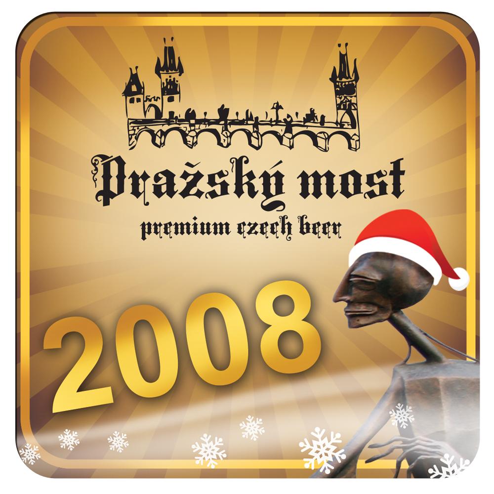 Restaurace Pražský most – pivní tácky s neotřelým designem