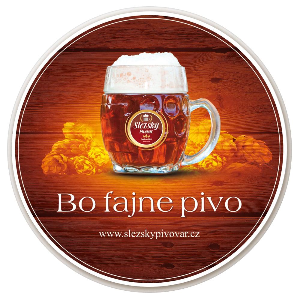 Slezský pivovar, naše pivní tácky do razoviteho regionu